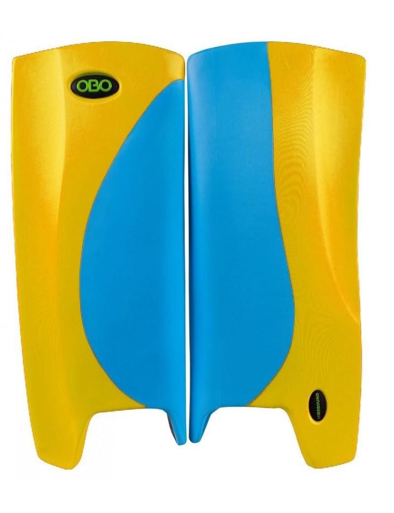 OBO Robo Hi Rebound Legguards Light Blue Yellow